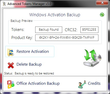 Activer windows 7 automatiquement