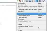 Supprimer l'historique de navigation dans Google Chrome