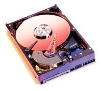 l'intérieur d'un disque dur