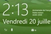 L'écran de Verrouillage dans Windows 8