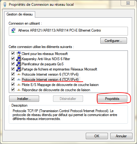 IPV4 WINDOWS 7