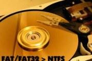 Comment faire pour convertir un disque dur de FAT32 en NTFS