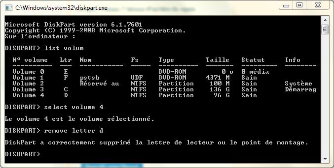 Comment cacher une partition Windows sans logiciels ?