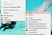Comment créer un nouveau dossier sous windows 7 ?