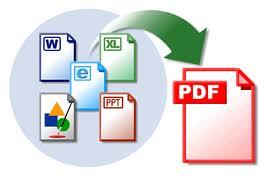 Convertir document page Web format PDF