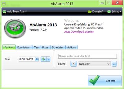 réveil gratuit Windows 7 | 8