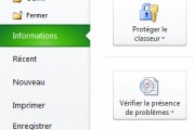 Enregistrer un document Excel en PDF
