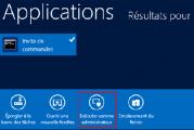 Activer compte administrateur sous Windows 8