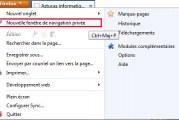 Comment naviguer sans laisser la moindre trace avec Firefox