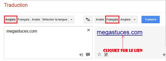 Comment débloquer les sites internet à l'aide de googla translate