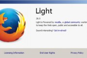 Firefox Light, une version allégée de Firefox