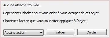 supprimer fichier, dossier avec unlocker