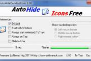 Masquer automatiquement les icônes sur le bureau de Windows