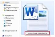 Extraire toutes les images d'un fichier word