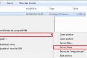 Comment extraire les fichiers .MSI