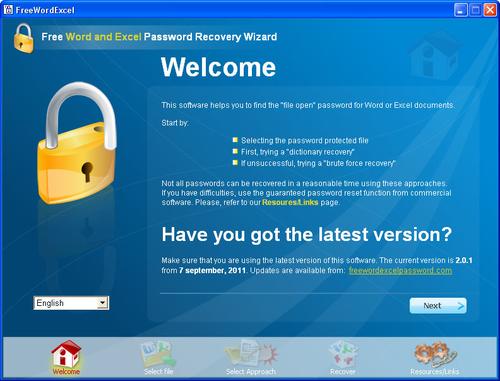Récupérer mot de passe