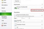Imprimer un classeur Excel en recto verso