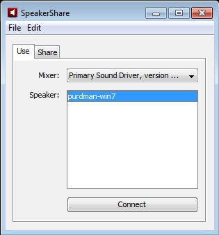 SpeakerShare