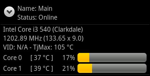 Contrôlez la température à distance