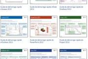 Télécharger Microsoft Office 2013 Guides de démarrage PDF