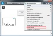 Réinitialiser les paramètres d'Internet Explorer par défaut