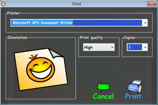 imprimer la pochette
