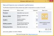 Comment affiché l'indice de performance windows 8.1