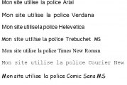 Des polices manquantes dans microsoft word