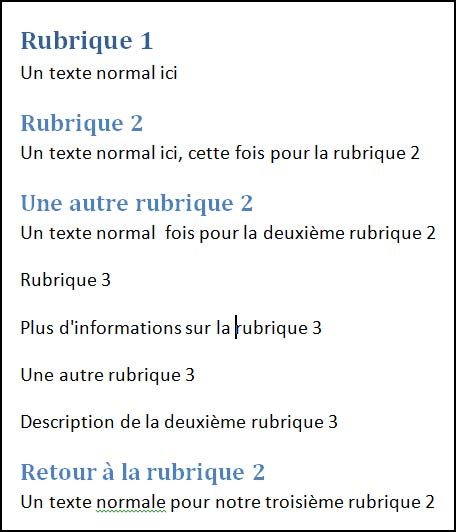 mise en forme document word titre1-titre2