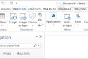 Comment faire pour ajouter une ligne de signature dans Microsoft Word 2013?
