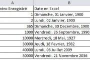 Calculer nombre de jours entre deux dates avec Excel