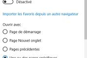 Comment définir plusieurs pages d'accueil dans Microsoft Edge
