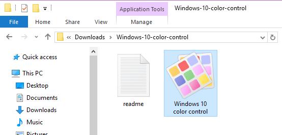 personnalisée pour les bordures de fenêtre dans Windows 10