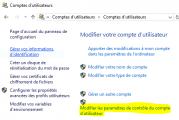 Désactiver le Contrôle de compte d'utilisateur UAC sur Windows 10