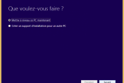 Impossible de mettre à niveau vers Windows 10 à partir de Windows 8.1 ou Windows 7