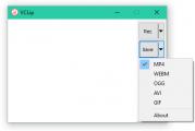 VClip: Logiciel d'enregistrement vidéo gratuit pour Windows