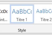 Comment utiliser les styles Microsoft Word