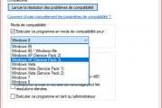 Exécuter un ancien logiciel sous Windows 10 avec le mode de compatibilité