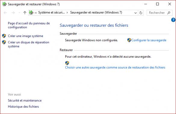 Stratégie de sauvegarde complète pour votre PC Windows 10