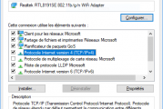 Désactiver ou activer DHCP dans Windows 10/8/7