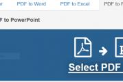 Logiciels gratuits et outils en ligne pour convertir PDF en PPT (PowerPoint)