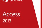 Télécharger cours Microsoft Access 2013 en PDF