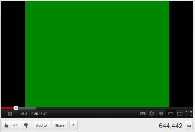 Écran vert lors de la lecture windows 10