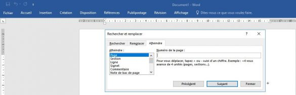 supprimer une page blanche document Word