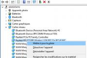 Windows n'a pas trouvé de pilote pour votre carte réseau