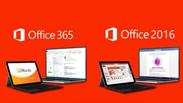 Comparaison entre Office 2019 et Office 365