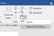 Fusionner plusieurs documents Word en un seul