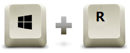 raccourci clavier windows + r