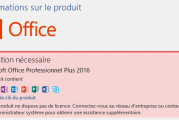 Comment activer Microsoft Office 2019/2016