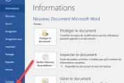 Comment effacer la liste des fichiers récemment ouverts dans Word